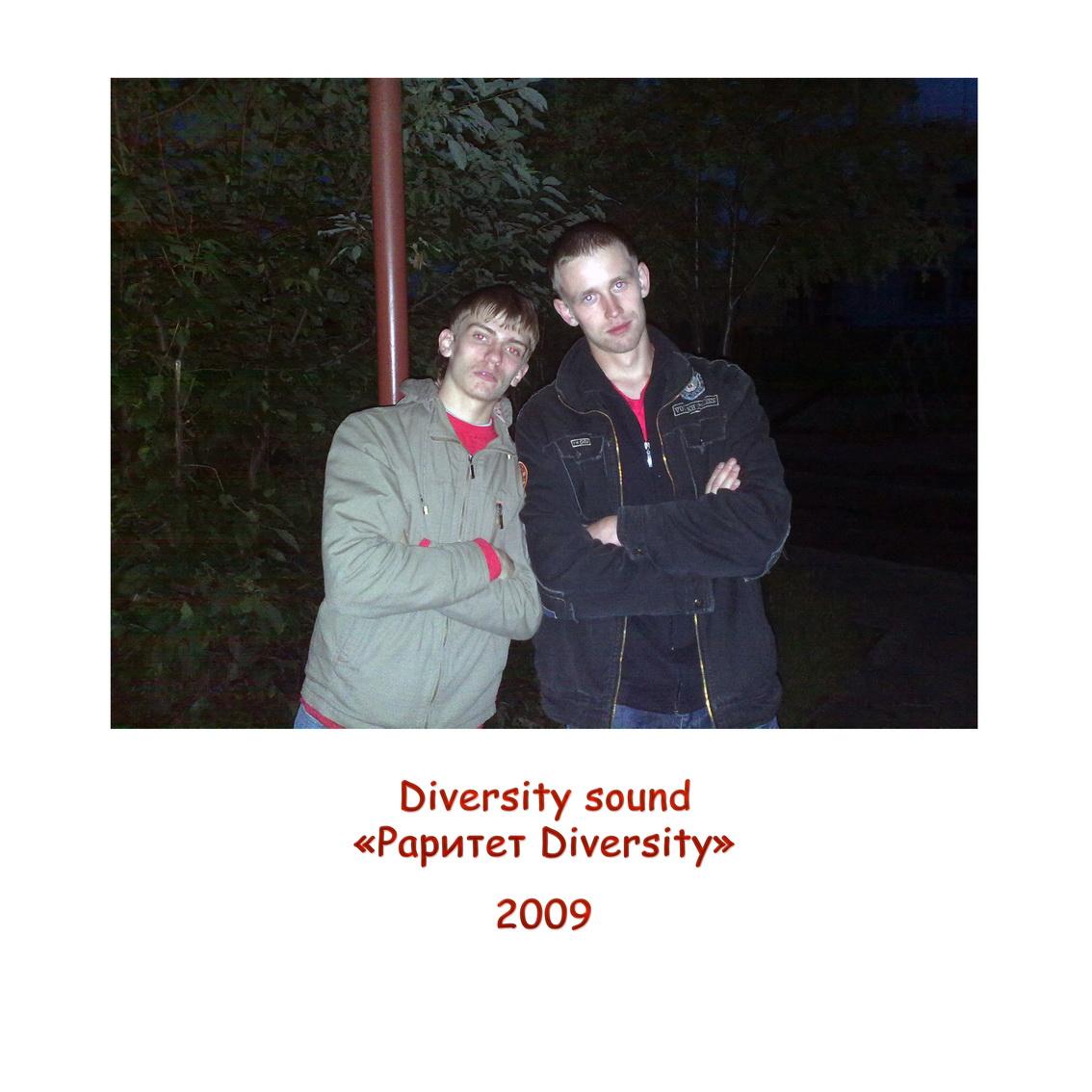 Diversity sound - Раритет Diversity 2009 (2013)